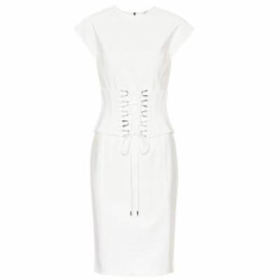 ミュグレー Mugler レディース ワンピース ワンピース・ドレス Stretch-jersey corset dress Cream