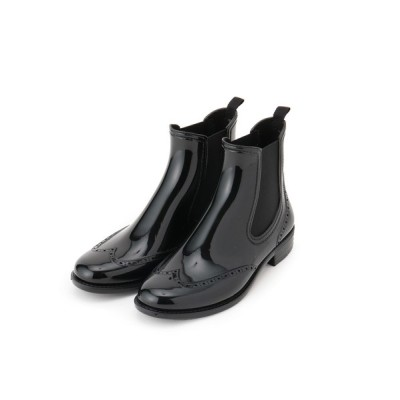 anatelier / Traditional Weatherwear ウィングチップサイドゴアレインブーツ WOMEN シューズ > レインシューズ