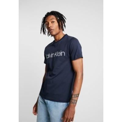 カルバンクライン メンズ Tシャツ トップス Print T-shirt - navy navy