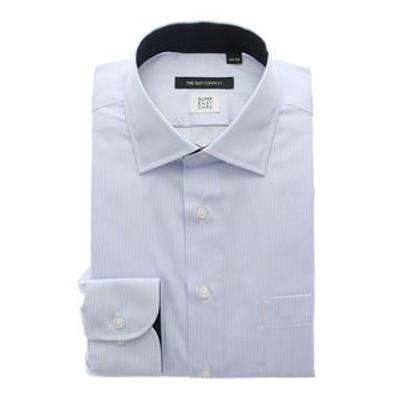 【COOL MAX】ワイドカラードレスシャツ ストライプ 〔EC・BASIC〕