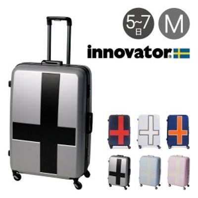 【レビューを書いて+5%】イノベーター スーツケース 90L 68cm 4.8kg INV68T innovator 2年保証 ハード フレーム TSAロック 消音