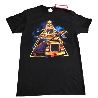DEF LEPPARD デフレパード 18 WHEELIN GUITAR オフィシャル バンドTシャツ / 2枚までメール便対応可