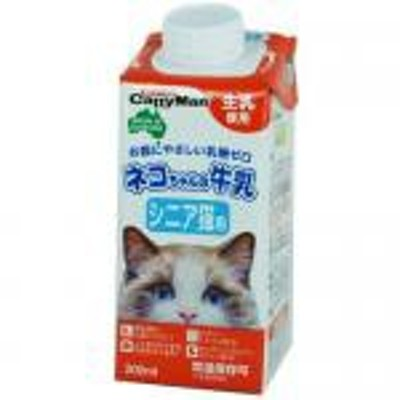 【新品/取寄品】ネコちゃんの牛乳 シニア猫用 200ml