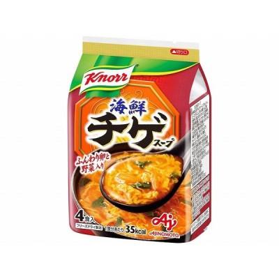 味の素クノール海鮮チゲスープ4食37.6gまとめ買い(×10)