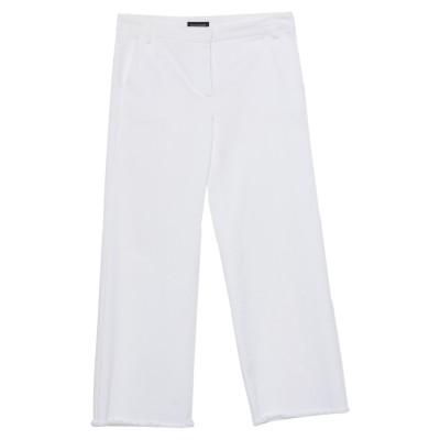 DIANE KRÜGER パンツ ホワイト 38 コットン 73% / ポリエステル 24% / ポリウレタン 3% パンツ