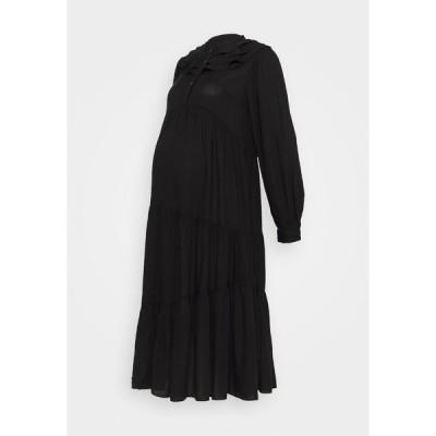 トップショップ ワンピース レディース トップス DAISY GRANDAD - Day dress - black