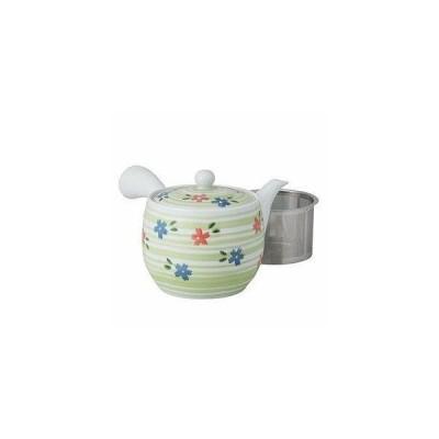 西海陶器(Saikaitoki) 波佐見焼 急須 ブロッサム柄 (スーパーステンレス茶こし付) 42602