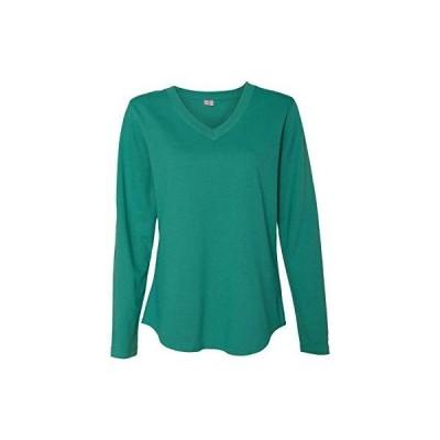 Marky G Apparel Women's V-Neck Pullover, Jade, S並行輸入品 送料無料