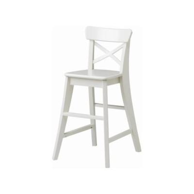 IKEA/イケア INGOLF 子供用チェア, ホワイト