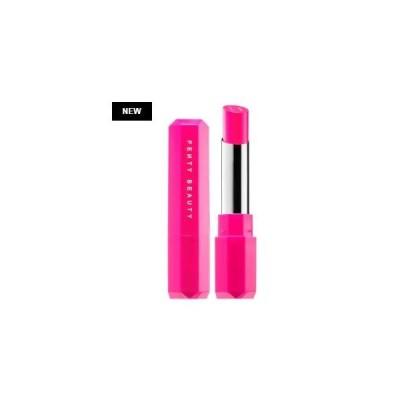 FENTY BEAUTY  LIP フェンティビューティ リップ Poutsicle Juicy Satin Lipstick Tropic Tantrum - poppin' hot pink