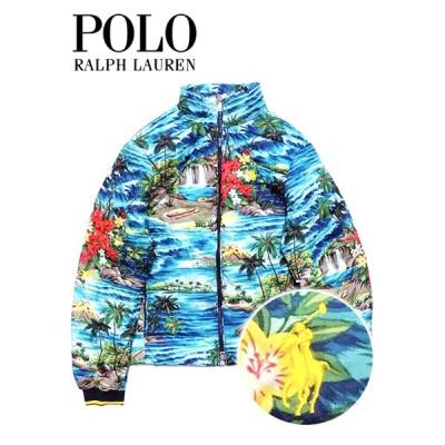 送料無料 メンズ ダウンジャケット ブルー系 Polo Ralph Lauren ポロ ラルフローレン S M L XL