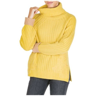 セーター レディース エルマノシェルビーノ  ERMANNO DI ERMANNO SCERVINO WOMEN'S JUMPER SWEATER TURTLE NECK NEW 19C