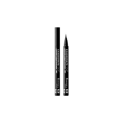 Rimmel (リンメル) エグザジェレート ラスティングリキッドアイライナー WP 101 ブラックブラウン 6.2ml