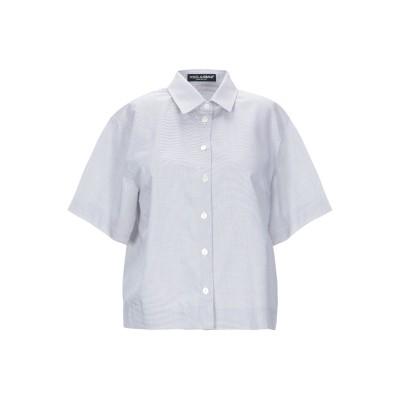 ドルチェ & ガッバーナ DOLCE & GABBANA シャツ ブラウン 42 コットン 100% シャツ
