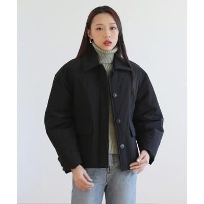 ジャケット テーラードジャケット 高級素材カラーショートダウンジャケット
