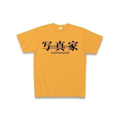 写真家 Tシャツ(コーラルオレンジ)