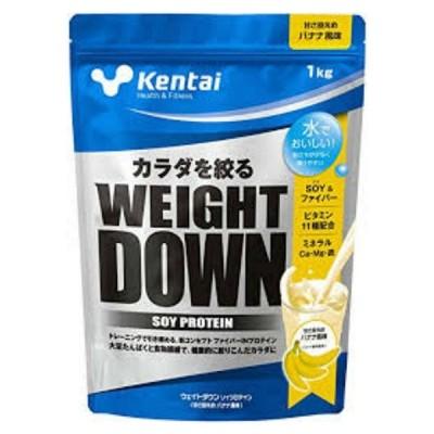 ケンタイ サプリメント 健体 ウェイトダウンソイプロテイン バナナ 1kg K1241