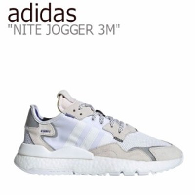 アディダス スニーカー adidas メンズ レディース NITE JOGGER 3M ナイトジョガー 3M WHITE ホワイト EE5885 シューズ