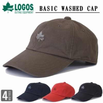 ロゴス LOGOS ベーシックキャップ ローキャップ ソフトキャップ ロゴキャップ キャップ 帽子 サイズ調節可能 logo cap