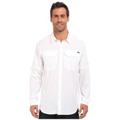 コロンビア メンズ シャツ トップス Silver Ridge Lite Long Sleeve Shirt White