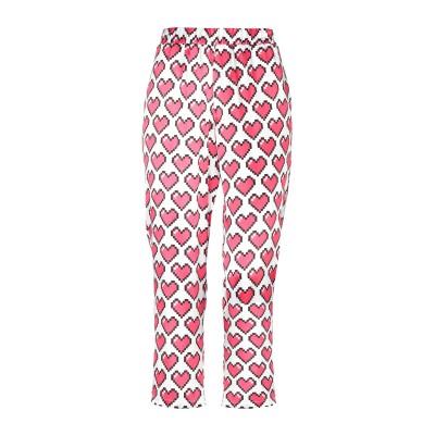 ラブ モスキーノ LOVE MOSCHINO パンツ ホワイト 42 レーヨン 100% パンツ