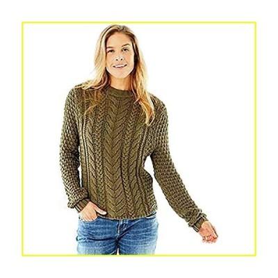 CARVE Designs Wales Sweater, Small, Fir並行輸入品