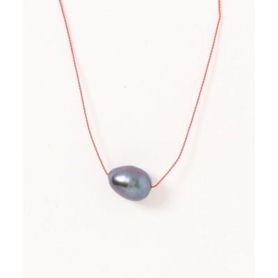 TONE / 【V&SSS】ブラックパール & sv925 necklace WOMEN アクセサリー > ネックレス