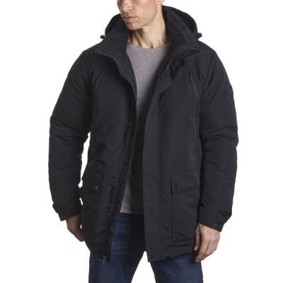 ペリーエリス ジャケット&ブルゾン アウター メンズ Men's Parka Jacket Black