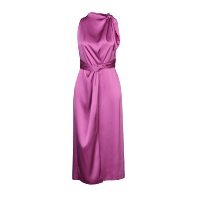 ナヌーシュカ NANUSHKA ロングワンピース&ドレス モーブ XS トリアセテート 78% / ポリエステル 22% ロングワンピース&ドレス