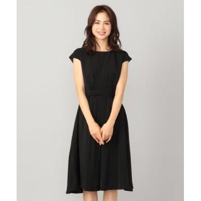 any FAM/エニィファム 【セレモニー】アシンメトリータック ドレス ブラック系 1