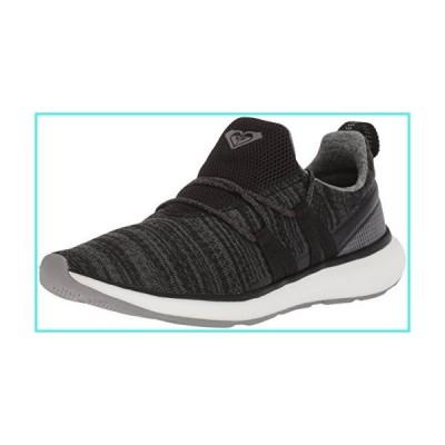 【新品】Roxy Women's Set Seeker Athletic Shoe Running, Black, 8 M US(並行輸入品)
