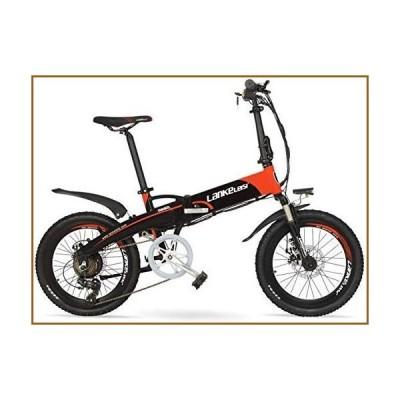 """並行輸入品JINHH 48V 10Ah Hidden Battery 20"""" Pedal Assist Folding Electric Mountain Bike, 240W Motor, Aluminum Alloy Frame, Suspension F"""
