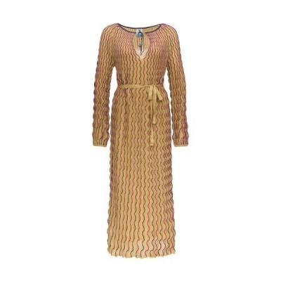 エム ミッソーニ レディース ワンピース トップス M Missoni Embroidered Wave Maxi Dress -