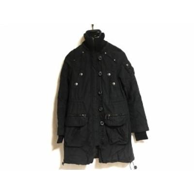 ロイヤルパーティー ROYALPARTY コート サイズ38 M レディース 黒 冬物【中古】