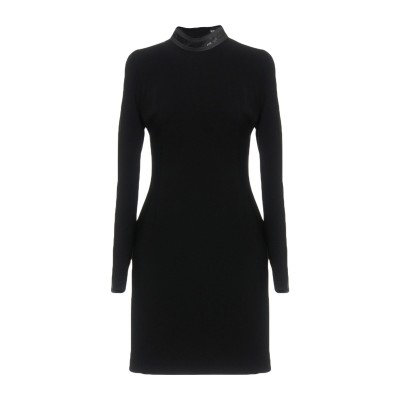 VERSUS VERSACE ミニワンピース&ドレス ブラック 36 ポリエステル 100% / 金属 ミニワンピース&ドレス