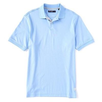 ダニエル クレミュ メンズ シャツ トップス Solid Cotton Short-Sleeve Polo Shirt