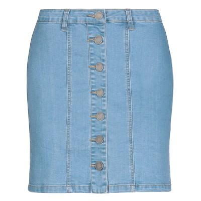 COMPAÑIA FANTASTICA デニムスカート ブルー XL コットン 95% / ポリウレタン 5% デニムスカート
