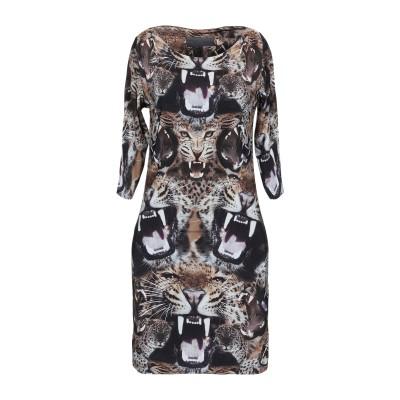 PHILIPP PLEIN ミニワンピース&ドレス キャメル S レーヨン 92% / ポリウレタン 8% ミニワンピース&ドレス