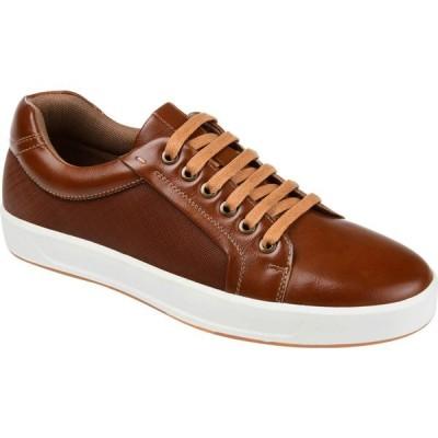 バンス Vance Co. メンズ 革靴・ビジネスシューズ シューズ・靴 Maxx Casual Sneaker Brown Vegan Leather