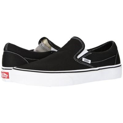 ヴァンズ Vans メンズ スリッポン・フラット シューズ・靴 Classic Slip-On(TM) Core Classics Black (Canvas)