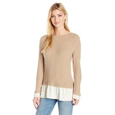 ケンジー レディース セーター(プルオーバー型) Kensie Women's Warm Touch 2-Fer Sweater