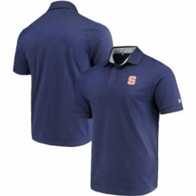 Under Armour アンダー アーマー スポーツ用品  Under Armour Syracuse Orange Navy Charged Cotton Performance Tri-Blen