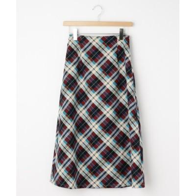 WORLD ONLINE STORE SELECT / Clear チェック柄フレアスカート WOMEN スカート > スカート