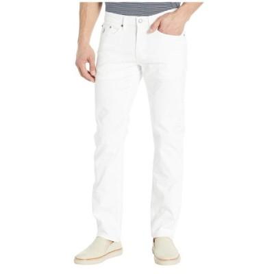 ユーエスポロアッスン U.S. POLO ASSN. メンズ スキニー・スリム ボトムス・パンツ Slim Straight Stretch Five-Pocket Pants White