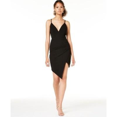 エメラルドサンデー レディース ワンピース トップス Juniors' Lace-Back Bodycon Dress