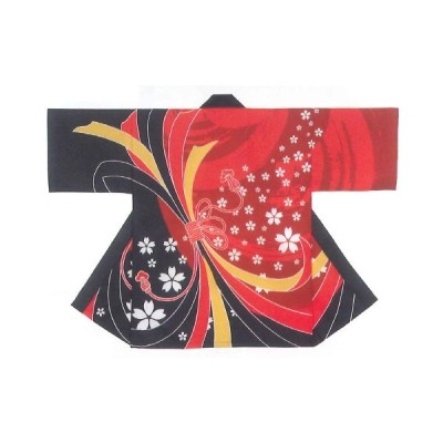 祭り半纏 暴れ熨斗・桜
