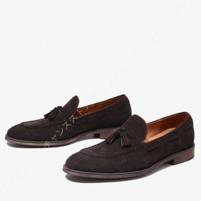 ドライビングシューズ メンズ ローファー スリッポン 合皮 モカシン ビジネスシューズ 紳士靴 転靴 カジュアルシューズ 防滑 軽量 大きいサイズ メンズ