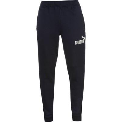 プーマ Puma メンズ ボトムス・パンツ テーパードパンツ Tapered Fleece Pants Navy/White