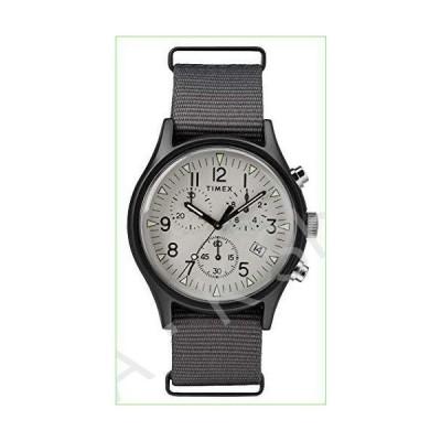 Timex Mens Chronograph Quartz Watch with Nylon Strap TW2T10900--並行輸入品--