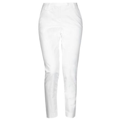 SEVENTY SERGIO TEGON パンツ ホワイト 42 コットン 68% / ポリエステル 28% / ポリウレタン 4% パンツ